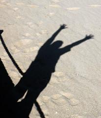 Hoy me siento bien / Today I feel good (((( Wassa )))) Tags: madrid shadow espaa contrast libertad freedom spain shadows outdoor sombra arena contraste sombras libre wassa mjos