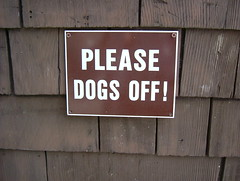 Please Dogs Off (dogwelder) Tags: 2005 sanfrancisco dogs sign marina please off zurbulon6 zurbulon gatturphy