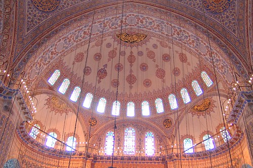 Insıde the Blue Mosque
