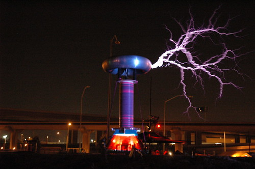 Megavolt Tesla Coil 1