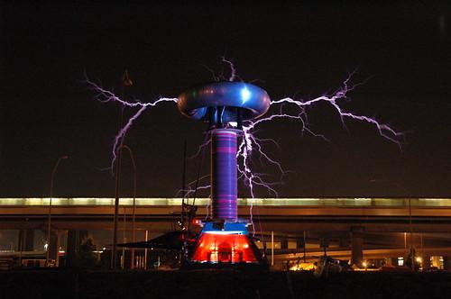 Megavolt Tesla Coil 3 w/BART