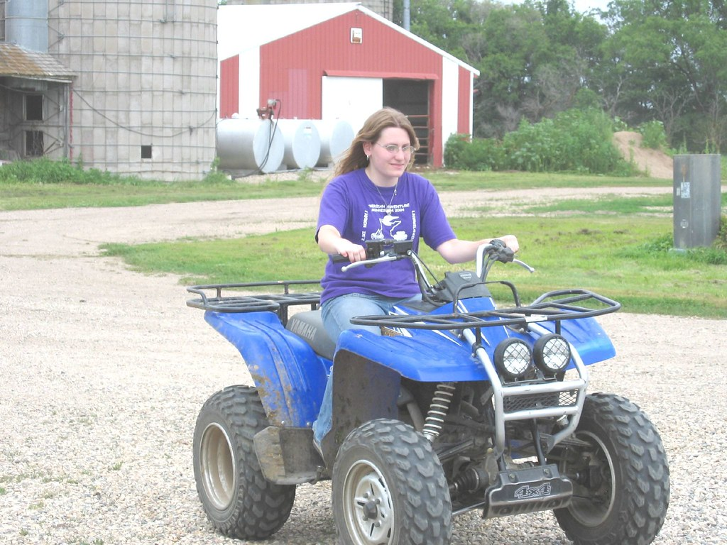 Driving the Four-Wheeler
