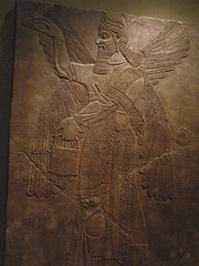 Assyrian Reliefs from the palace of Ashurnasirpal II in Nimrud Iraq 1 (mharrsch) Tags: sculpture iraq palace relief assyria assyrian ashurnasirpal nimrud mharrsch