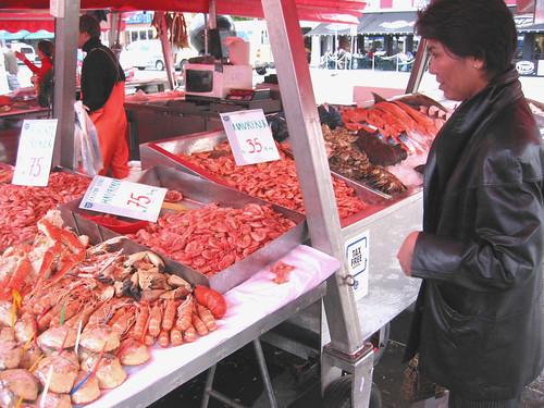 fresh crustaceans