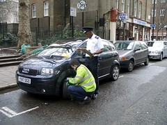 Traffic Warden Clamping