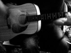 playing guitar (Megan Finley) Tags: guitar guitarplayer
