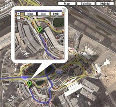 Google Maps Hybrid