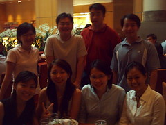 group photo... again (The Rational Neurotic) Tags: ms dept 551 apoc high tea marriot we all fat now