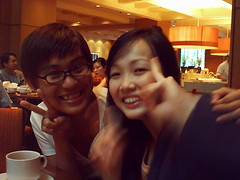 Shernice and Lee (The Rational Neurotic) Tags: ms dept 551 apoc high tea marriot we all fat now