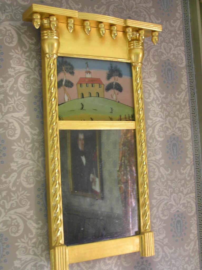 Decorated Mirror