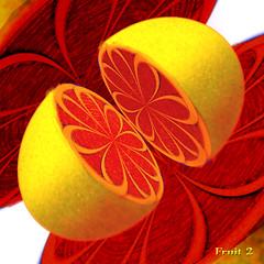 fruit (Cliff Michaels) Tags: photoshop patterns grapefruit citrus michaels tennpenny photoscliff