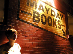 watching the fireworks (massdistraction) Tags: maydaybooks brickwall april watchingfireworks aquatennialfireworks minneapolisaquatennial westbank cedaravenue 400bar minneapolis minnesota night shadows shadow yellow black brick spotlight spotlit dimlylit backagainstthewall upagainstawall