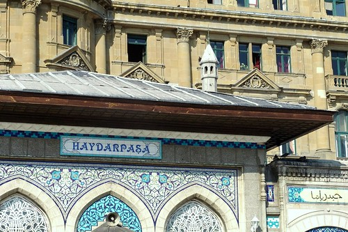 Haydarpasa station - gateway to Asia