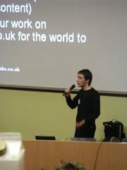 Ben Metcalfe and the launch of BBC backstage