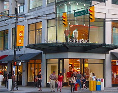 Banana Republic at Robson Street