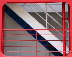 (Caramdir) Tags: ship ferry boat stairs red blue window 15fav
