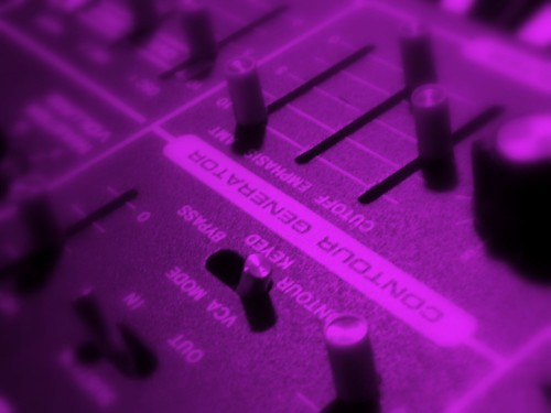 Purple Moog
