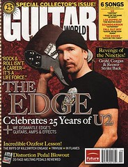 Edge on Guitar World cover (atu2) Tags: edge u2 guitarworld september2005