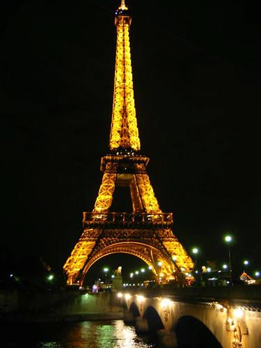 Eiffel over the Seine