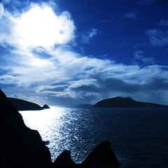 The wide blue yonder (Hugh_C) Tags: blue ireland sky topv111 clouds 510fav topv333 dingle favme kerry atlantic explore squareformat blaskets 110fav dunquin sleahead westofireland blasketislands urfavshorizon worldwalkers top20blue exceptionalireland 647tti submittedtogiap