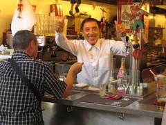 Juanito Bayen at Bar Pinotxo