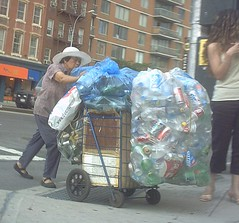 Recycling (GammaBlog) Tags: recycling lowereastside gammarec people nycpb nyc