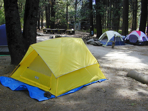 Outside Yosemite Valley: Hodgdon Meadow and Wawona Campgrounds are open;