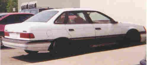 My '86 Taurus
