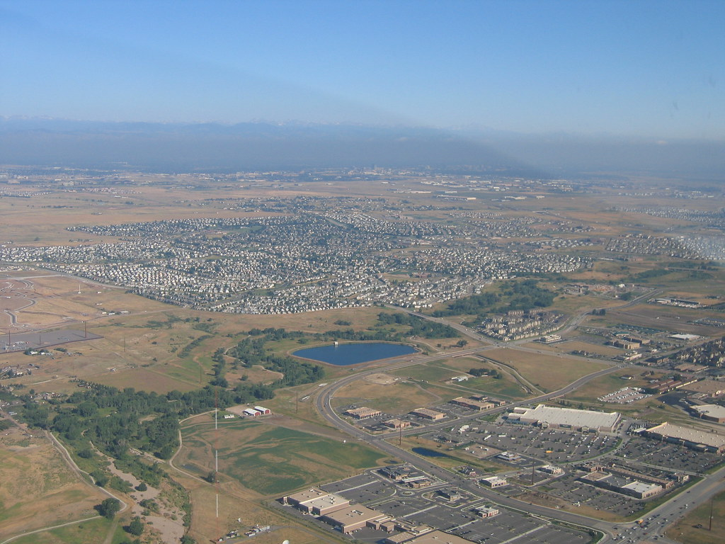 Parker, CO from 7500 MSL