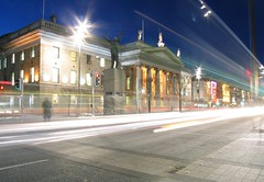 GPO, Dublin (John Wallace Photography) Tags: street city ireland light urban dublin night cityscape capital liffey jwallace johnew johnwallace