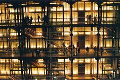 Evolution, Paris (Mooody Matt) Tags: longexposure paris museum lights lumire evolution