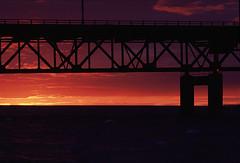 Sunset over the Big Mac