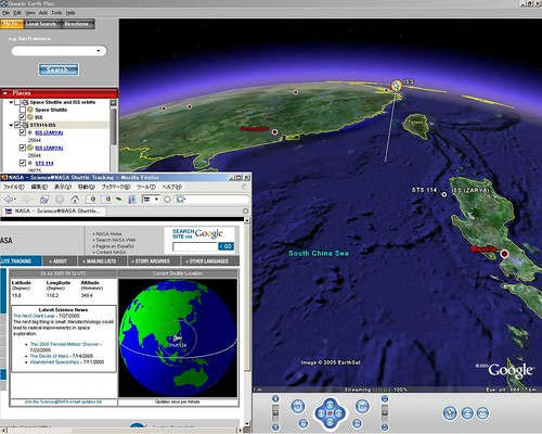 Iss Tracking Google Earth