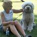 Sally Kaiser with Emily