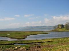 Old Castle Lachlan ruin Loch Fyne