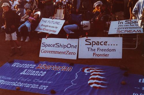 SpaceShipOne, GovernmentZero