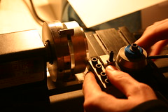 Lathe (mikest) Tags: lens pinhole lathe makingthings sherline machining