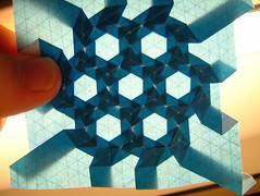 true p6 tiling (orbifold notation: 632) backlit (EricGjerde) Tags: lighting paper tile triangle origami geometry wip tiles hexagon backlit polygon rectangle origomi gjerde tessellation tessellations tesselation tesselations paperfolding papiroflexia pbp tiling p6 origamitessellation origamitessellations 折り紙 tilings wallpaperpatterns wallpapergroups orbifold632 tassellazione tesselações