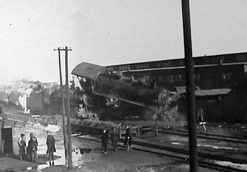 Train Wreck - Prob. Early 1900's