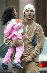 Kevin Federline and daughter Kori