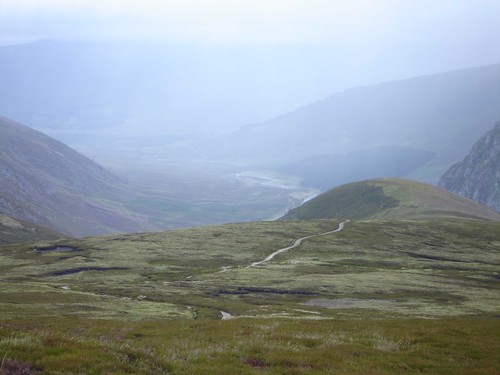 View Down to Glen Esk