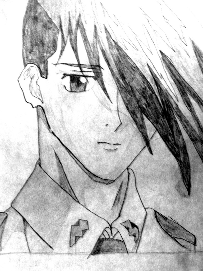 Trowa Miss Private Tags Anime Gundam Wing Japanimation Japanese Animation Drawing Art Sketch
