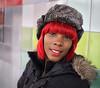 Dana (Explore) (jeffcbowen) Tags: dana hat hair red street stranger toronto thehumanfamily redhair