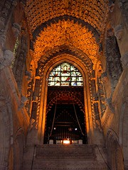 Rosslyn Chapel - Ceiling and Ghosts (Lynn Morag) Tags: light history stone scotland interestingness bravo edinburgh masonry stainedglass 100v10f carving ceiling lynn lynnmorag williamwordsworth rosslynchapel 200v20f interestingness18 photodomino143 photodomino144 i500 99wordsholy worldwalkers allrightsreserved