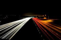 Super slab west (fd) Tags: longexposure topf25 night traffic overpass freeway themecompetition dizzyfromthefumes lightproofboxcom tccomp056