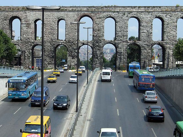 Valens Aqueduct, water security