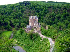 Burg Eltz Valley (Tjflex2) Tags: old trip vacation castle history castles stone germany interesting ancient burgeltz engineering medieval valley views historical 500 1000 masterpiece burg eltz top20travelpix