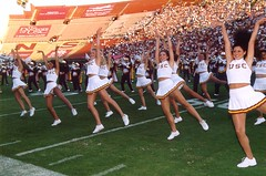 fball2002_15 (Hot Rod Homepage) Tags: uscfootball usc football uscsongleaders uscsonggirls cheer cheerleading cheerleaders wwwhitormissmoviescom universityofsoutherncalifornia trojanmarchingband
