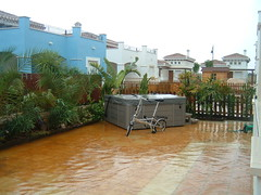 Oh well, wont need to water the plants tonight (Rob and Brenda) Tags: mmgr flood
