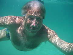 Dad (iko) Tags: portrait dad papa underwater